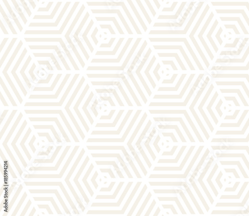 Foto auf AluDibond Boho-Stil Vector seamless pattern. Modern stylish texture. Repeating geometric tiling from striped triangle elements..