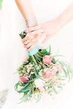 Pink Pastel Summer Wedding Bouquet