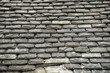 Background of old stone roof tiles