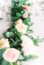 Floral Garland Center Piece