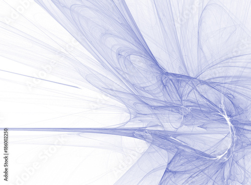 Abstract background. Fractal curves
