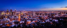 Winter Evening In Montreal