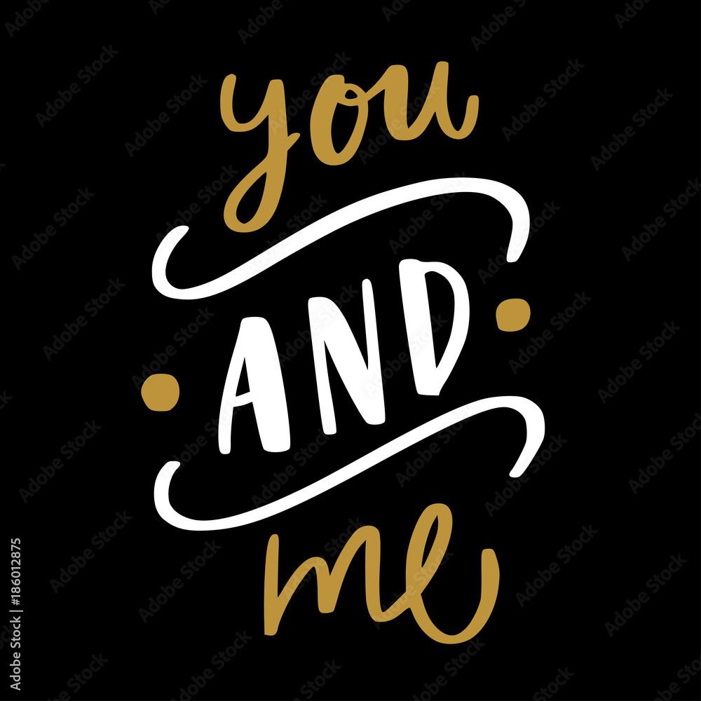 Fotografie, Obraz Love valentine quote