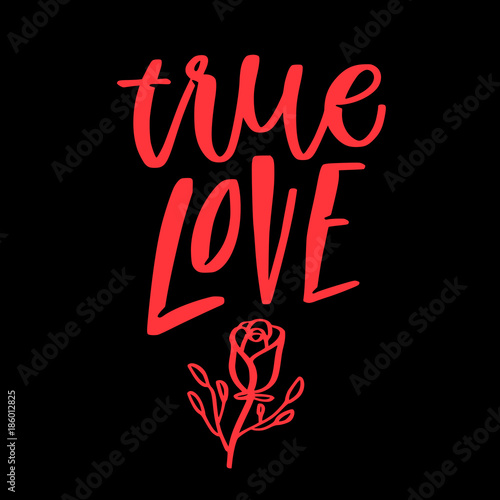 Love valentine quote Canvas-taulu