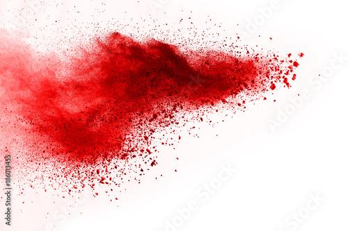 streszczenie-prochu-splatted-tlo-rewolucjonistka-prochowy-proszek-na-czarnym-t