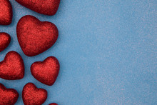 Valentines Themed Background O...