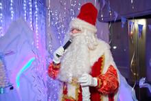 Santa Claus Singing Christmas ...