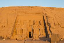 The Great Temple (Temple Of Ramses II), Abu Simbel, Egypt