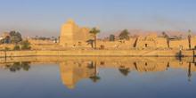 Sacred Lake At Karnak Temple, Near Luxor, Egypt