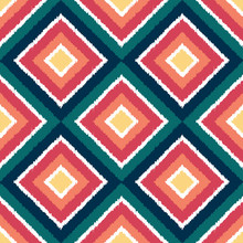 Seamless Geometric Colorful Rh...