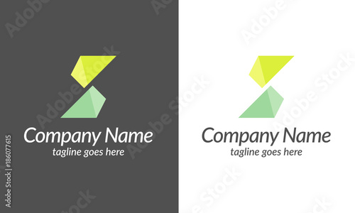 S Letter Logo Alphabet Design Company Name Symbol