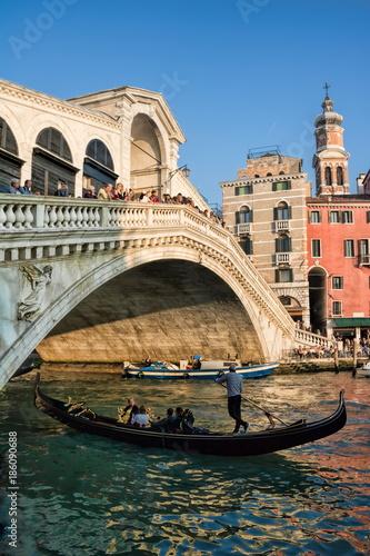 Foto op Aluminium Venetie Venedig, Ponte di Rialto