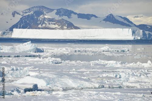 Tuinposter Antarctica Antarctica ice field