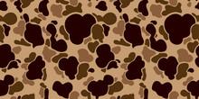 Camouflage Seamless Pattern Ve...
