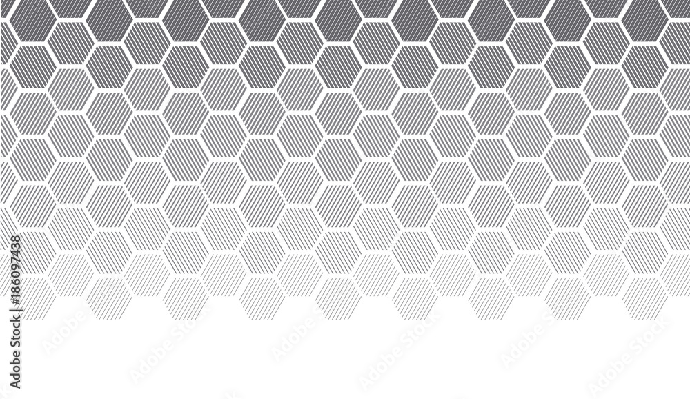 Fototapety, obrazy: Concept geometry pattern with line. geometric degrade gradient motif for header, poster, background.