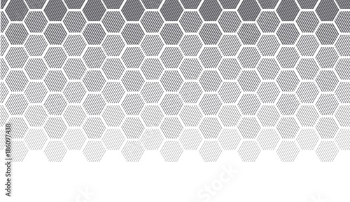 Photo sur Aluminium Empreintes Graphiques Concept geometry pattern with line. geometric degrade gradient motif for header, poster, background.
