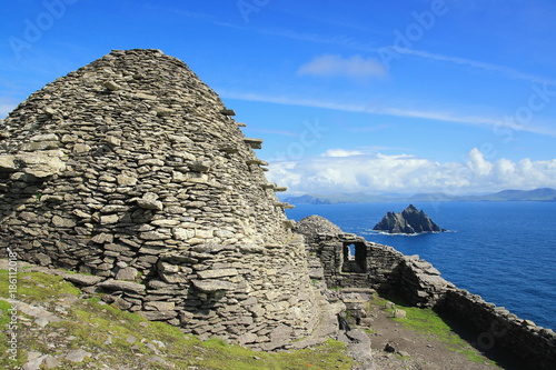 Tablou Canvas Ireland Skellig Michael and little Skellig in Europe