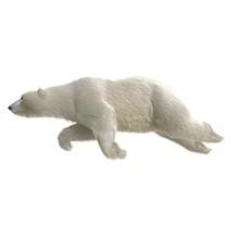 Large Male Polar Bear Swimming...