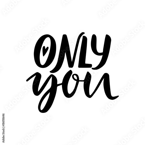 Only you Canvas-taulu