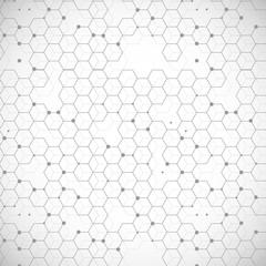 Fototapeta Minimalistyczny Abstract image of human DNA. Vector illustration