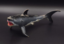 Great White Shark Plastic Toy ...