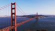 an afternoon view of golden gate bridge in san francisco, california from battery spencer