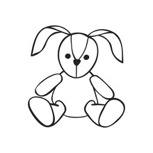 Vector Hand Drawn Icon Of Soft...