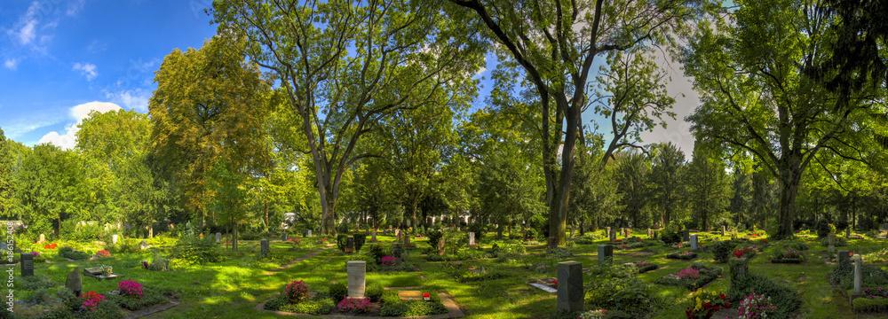 Fototapety, obrazy: Hauptfriedhof in Frankfurt am Main