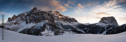 Dolomite Moonlight Canvas Print