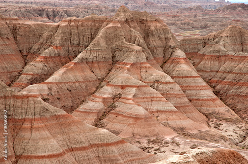 Photo Badlands Formations