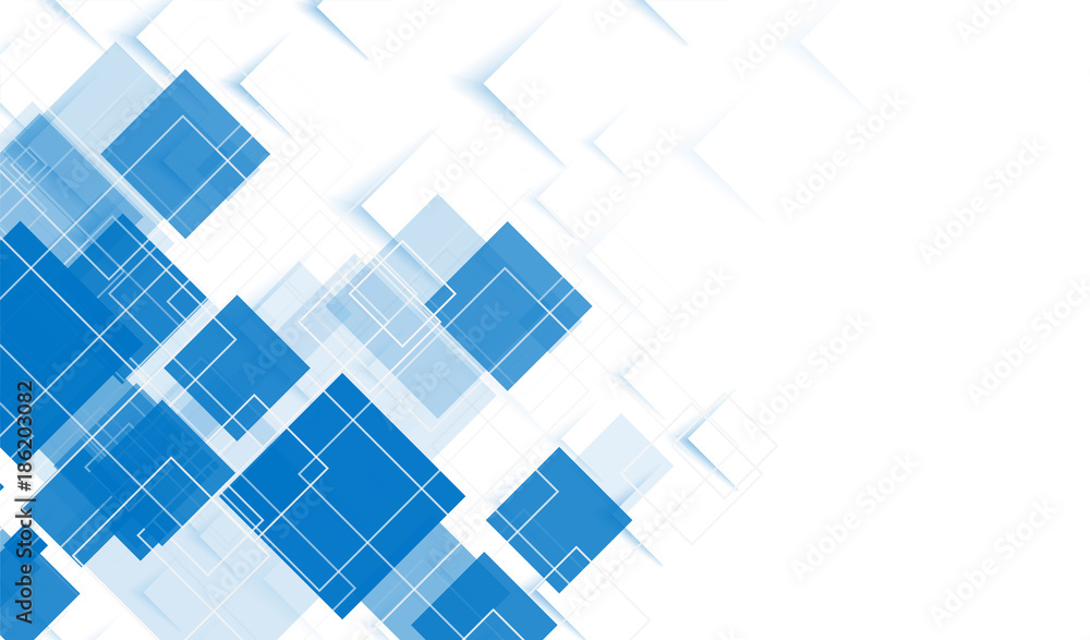 Fototapeta Abstract background of squares