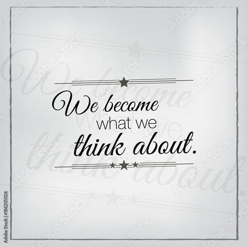 Fotografie, Obraz  Motivational quote poster