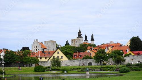 Fotografie, Obraz  Almedalen, Visby, Sweden