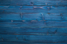 Wooden Texture Blue Background...