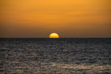 Sunset Over The Ocean From Pra...