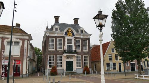 Foto op Plexiglas New York TAXI Abitazione tipica Olanda del Nord