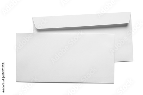 Fotomural Blank Card and Envelope