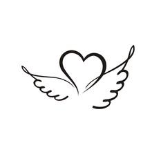 крылатое сердечко