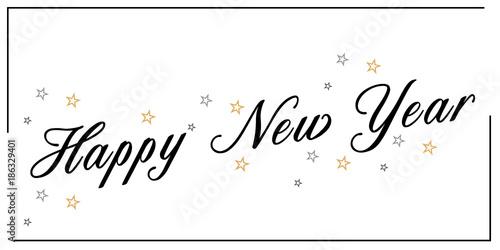 Fotografia  Happy New year, Szczęśliwego Nowego Roku