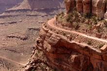Biking On Edge Of Cliff -