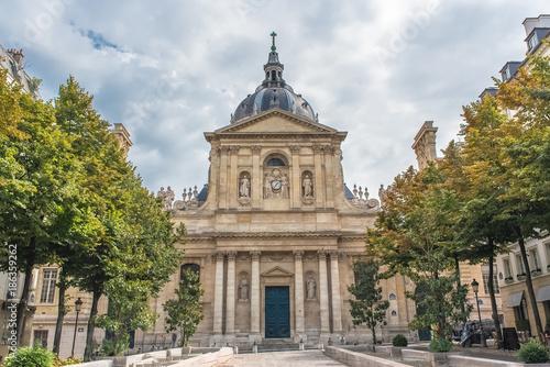 Papiers peints Con. ancienne Paris, the Sorbonne university in the Quartier latin