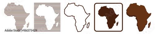 Afrika | Karte | Kontinent | Variationen