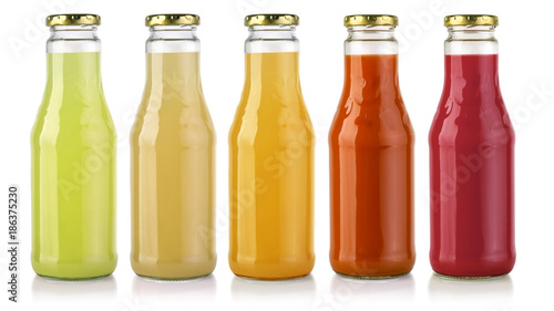 Poster Sap juice bottle isolated