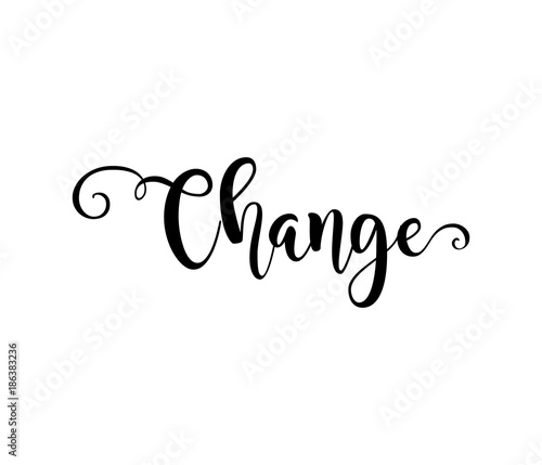 17 Inspiring Wonderful Black And White Contemporary: Change. Verb English. Beautiful Greeting Card With
