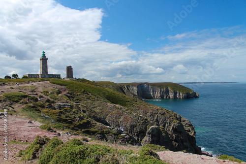 Garden Poster Lighthouse Bretagne