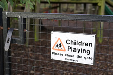 Children Playing Please Close ...