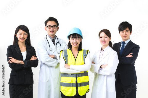 Foto 様々な職業の人々