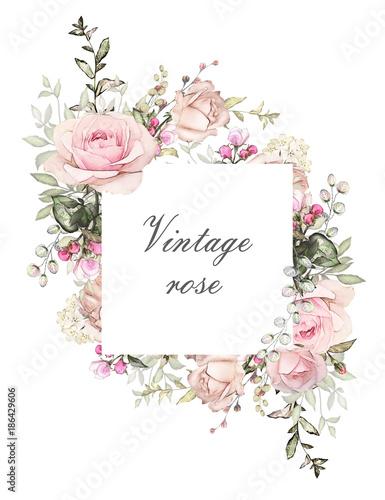 wzor-karty-akwarela-zaproszenie-na-slub-projekt-z-roz-paczek-i-lisci-kwiat