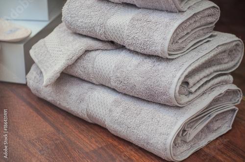 Canvas serviettes de toilette