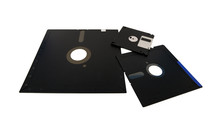 Old Storage Diskette Floppy Di...